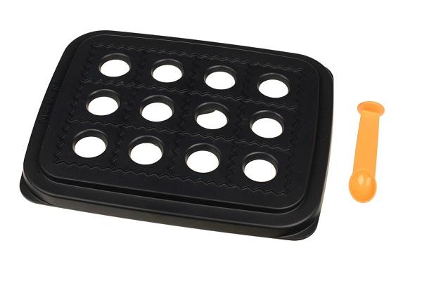 tupperware big snack d152 blau teigtasche ravioli maultasche neu ovp ebay. Black Bedroom Furniture Sets. Home Design Ideas