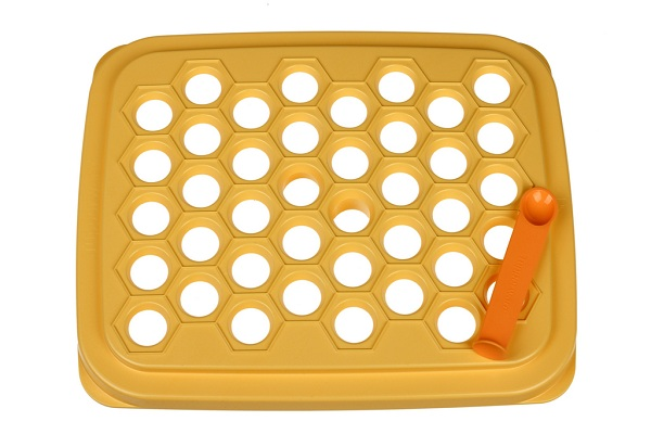 tupperware happy snack d145 gelb teigtasche ravioli maultasche neu ovp ebay. Black Bedroom Furniture Sets. Home Design Ideas